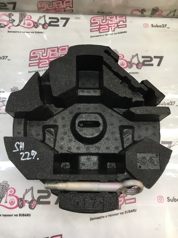 Пенопласт багажника Subaru Forester SH5 EJ204 2010 (б/у)
