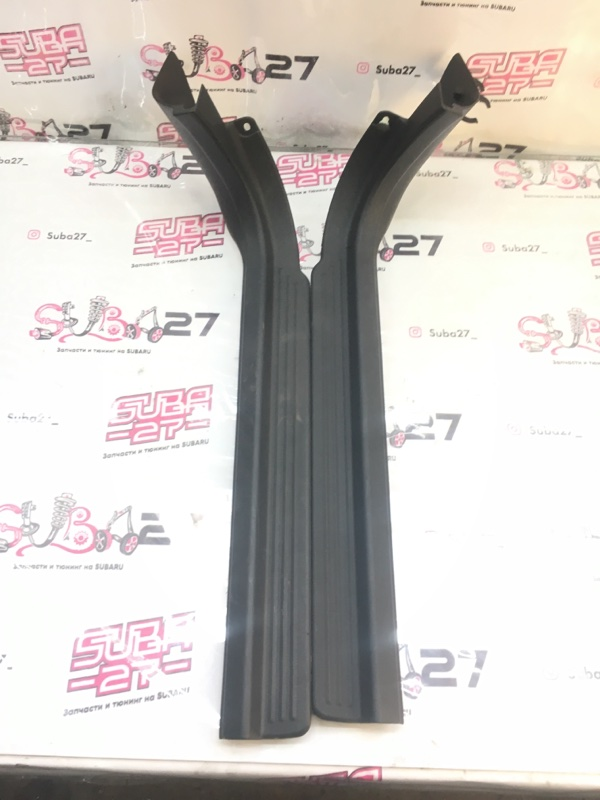 Пластик порога Subaru Impreza GGA EJ205 2003 передний (б/у)