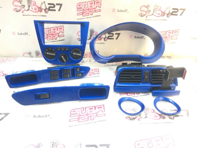 Пластик салона Subaru Impreza GGA EJ205 2003 (б/у)