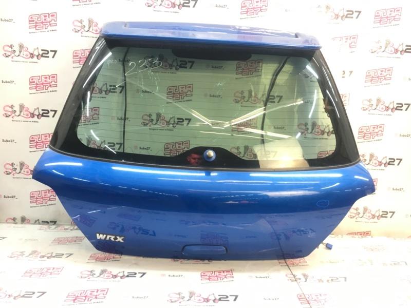 Дверь багажника Subaru Impreza GGA EJ205 2003 (б/у)