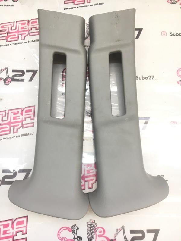 Накладки центральной стойки Subaru Impreza GGA EJ205 2003 (б/у)