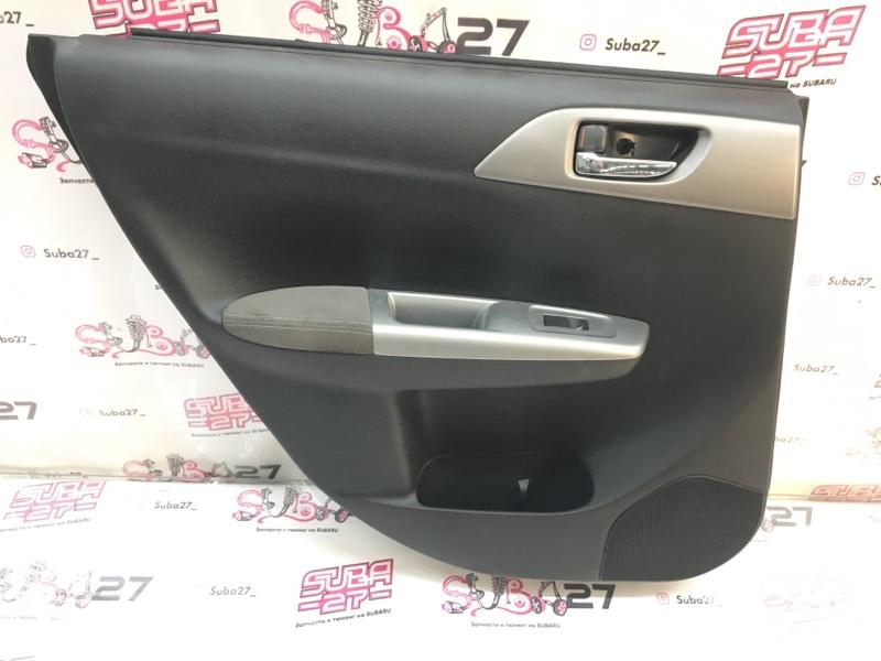 Обшивка двери Subaru Impreza Wrx Sti GRB EJ207 2009 задняя левая (б/у)