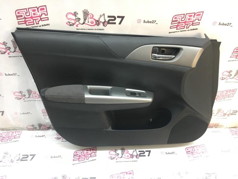 Обшивка двери Subaru Impreza Wrx Sti GRB EJ207 2009 передняя левая (б/у)