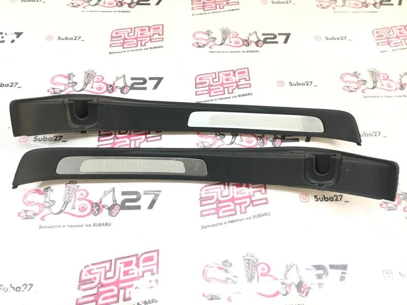Пластик порога Subaru Legacy BP5 EJ204 2005 задний (б/у)