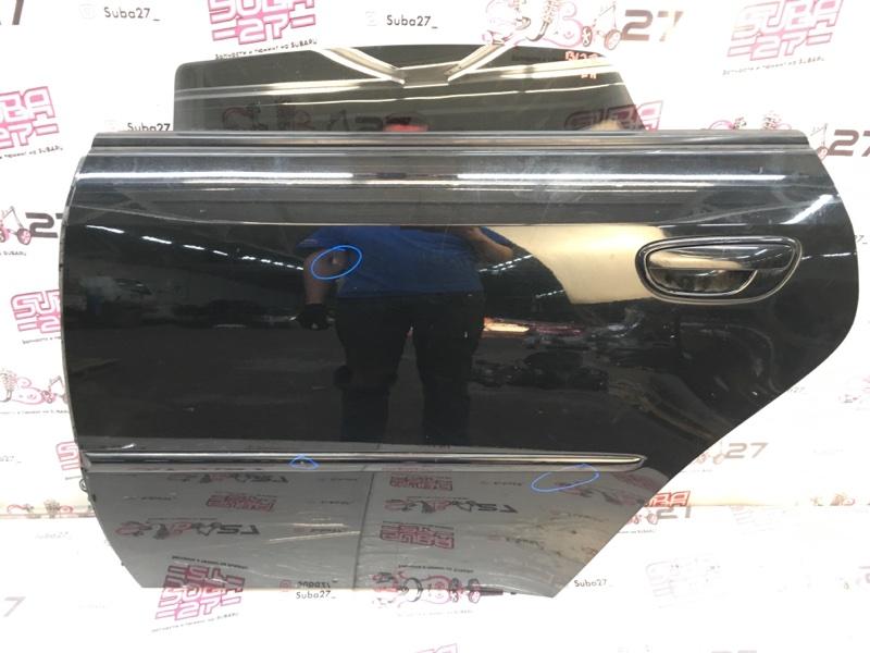 Дверь Subaru Legacy BL5 EJ20X 2007 задняя левая (б/у)