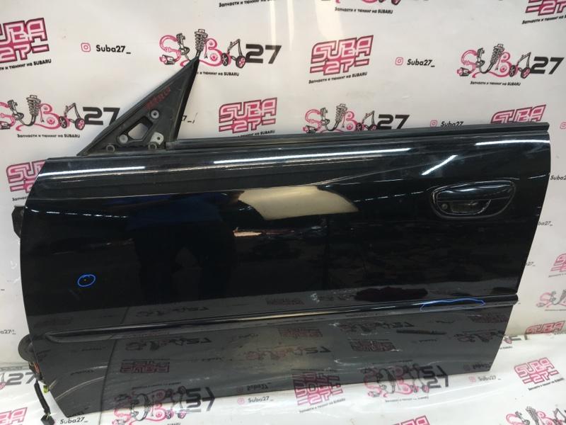 Дверь Subaru Legacy BL5 EJ20X 2007 передняя левая (б/у)