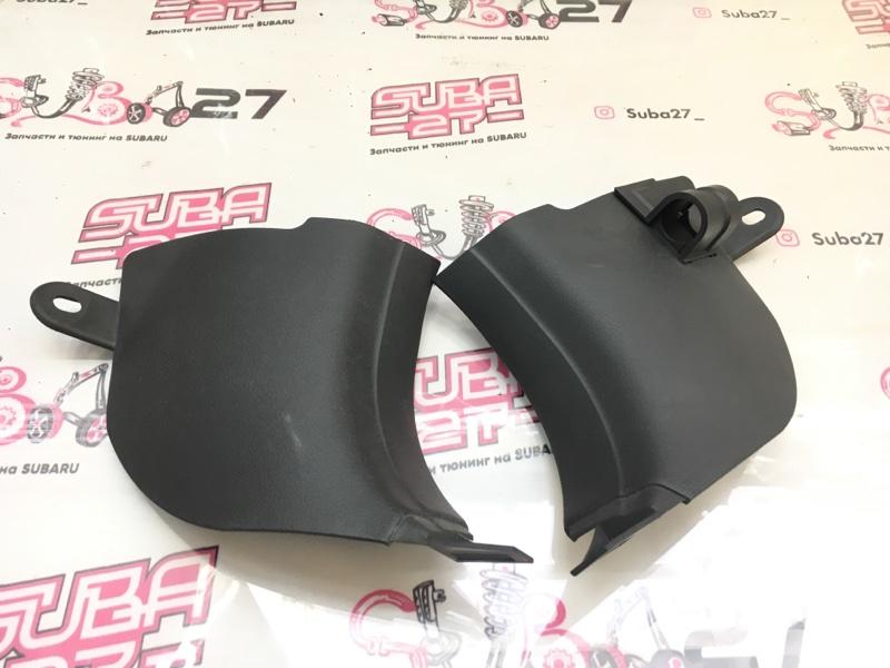 Пластик порога Subaru Impreza GH8 EJ20X 2007 передний (б/у)