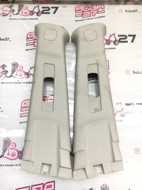 Накладки центральной стойки Subaru Impreza GH8 EJ20X 2007 (б/у)