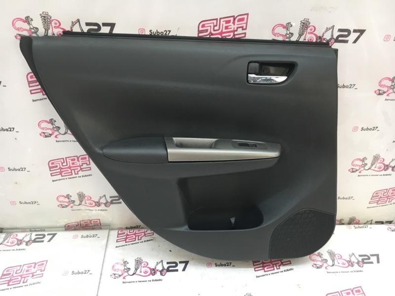 Обшивка двери Subaru Impreza GH8 EJ20X 2007 задняя левая (б/у)