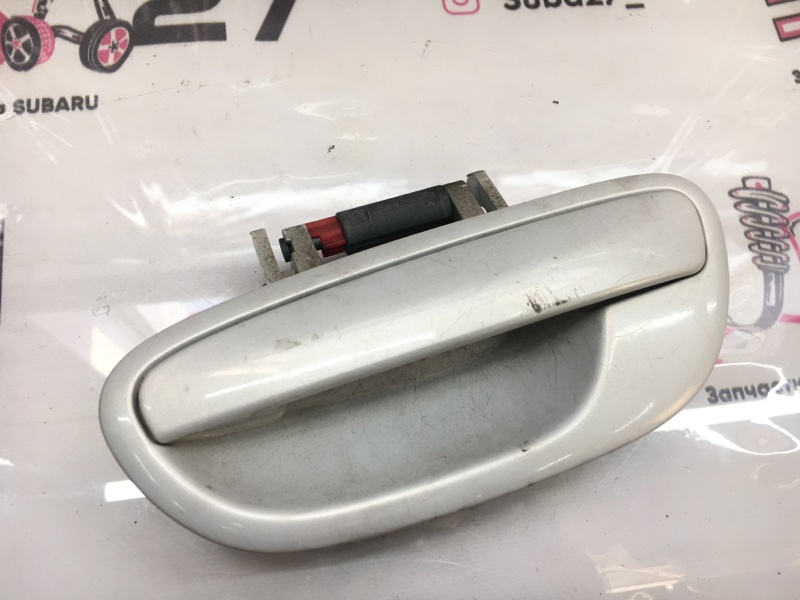 Ручка двери внешняя Subaru Legacy BLE EZ30 2004 задняя левая (б/у)