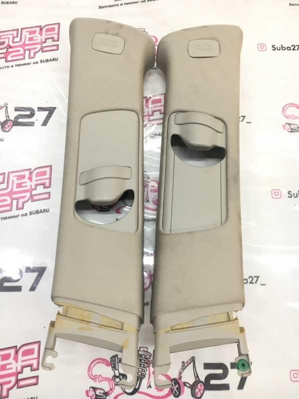 Накладки центральной стойки Subaru Legacy BP5 EJ203 2008 (б/у)