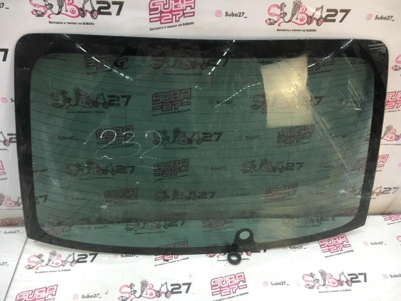 Стекло Subaru Legacy BL5 EJ20X 2007 заднее (б/у)