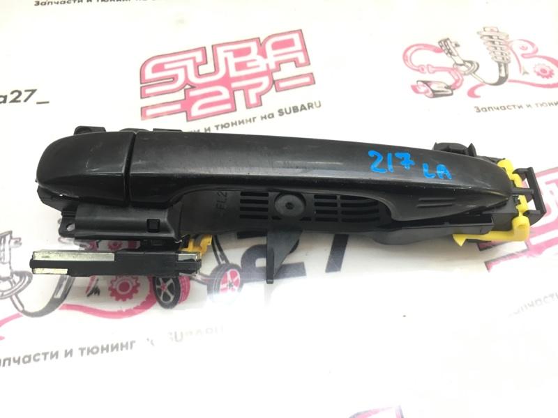 Ручка двери Subaru Forester SJG FA20 передняя левая (б/у)