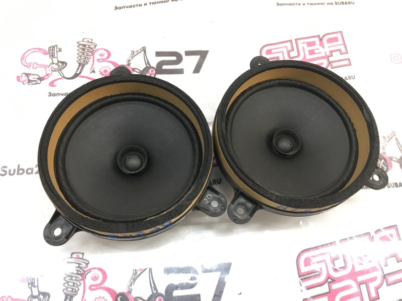 Мультимедиа акустика Subaru Outback BP9 EJ253 2008 задняя (б/у)