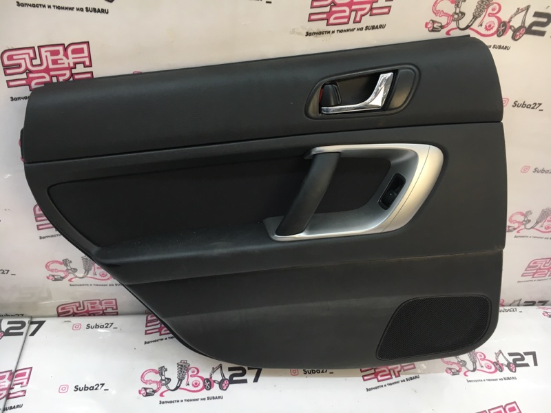 Обшивка двери Subaru Legacy BP5 EJ203 2007 задняя левая (б/у)