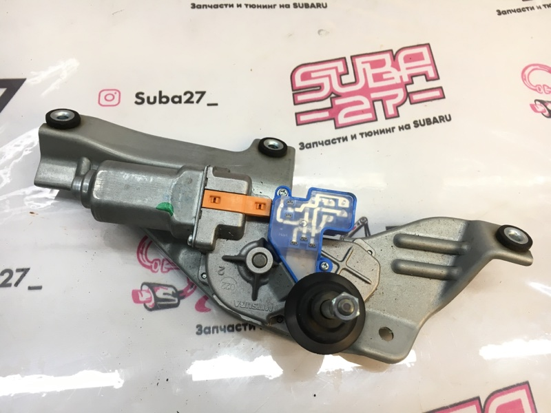 Мотор дворников Subaru Forester SH5 EJ204 2010 задний (б/у)