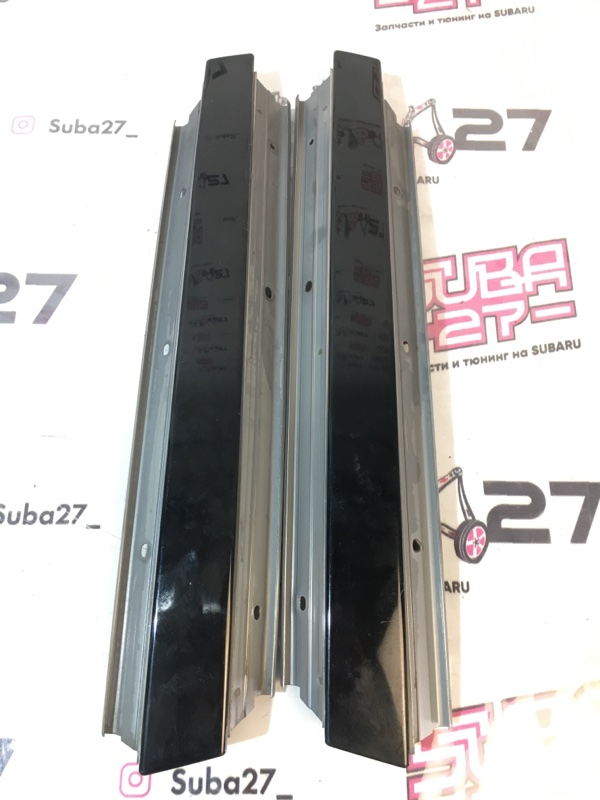 Накладки центральной стойки Subaru Legacy BP5 EJ20X 2005 (б/у)
