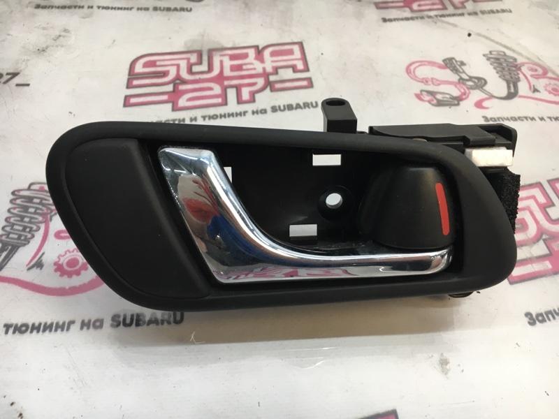 Ручка двери внутренняя Subaru Legacy BP5 EJ20X 2003 задняя правая (б/у)