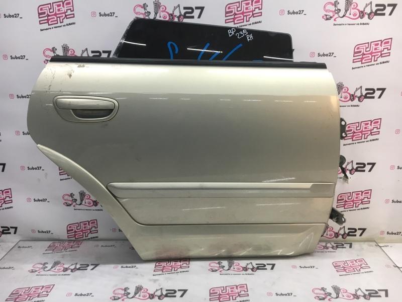 Дверь Subaru Outback BPE EZ30 2004 задняя правая (б/у)