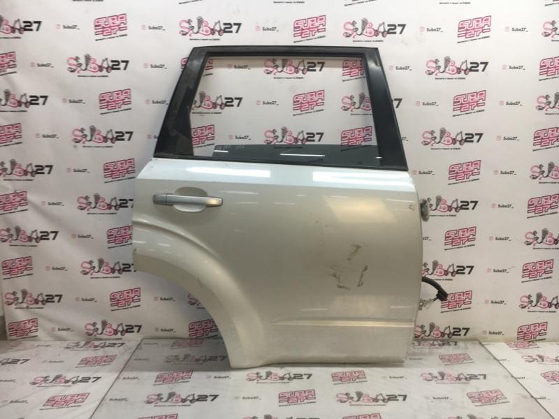 Дверь Subaru Forester SH5 EJ204 2008 задняя правая (б/у)