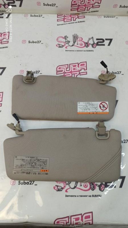 Козырек солнцезащитный Subaru Legacy BP5 EJ20X 2007 (б/у)