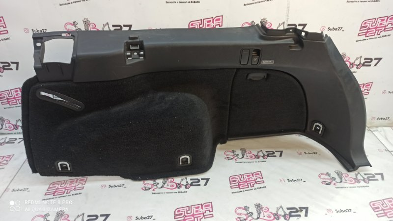 Пластик багажника Subaru Outback BP9 EJ253 2005 задний правый (б/у)