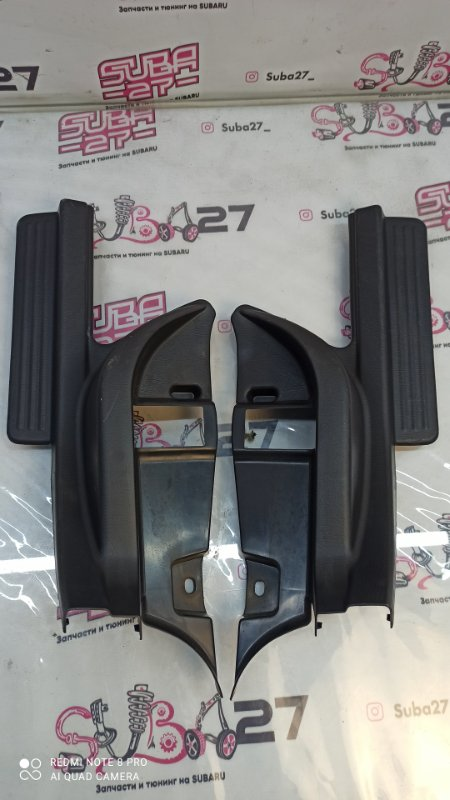 Пластик порога Subaru Impreza GGA EJ205 2007 задний (б/у)