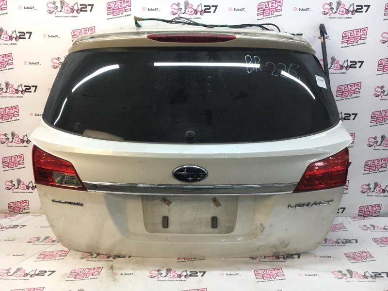 Дверь багажника Subaru Legacy BR9 EJ253 2009 (б/у)