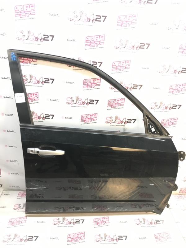Дверь Subaru Forester SH5 EJ204 2010 передняя правая (б/у)