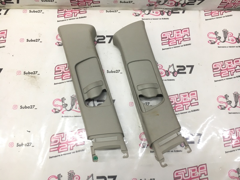 Накладки центральной стойки Subaru Legacy BP5 EJ20X 2007 (б/у)