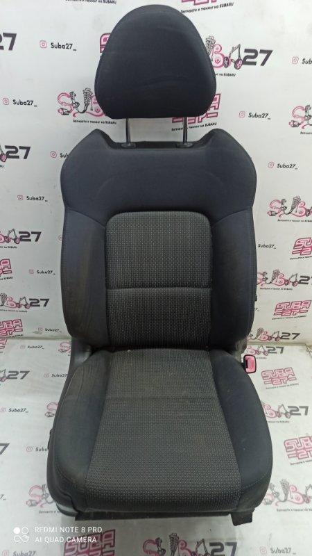Сидение Subaru Legacy BP5 EJ20X 2007 переднее правое (б/у)