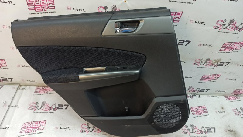Обшивка двери Subaru Forester SHJ FB20 2011 задняя левая (б/у)