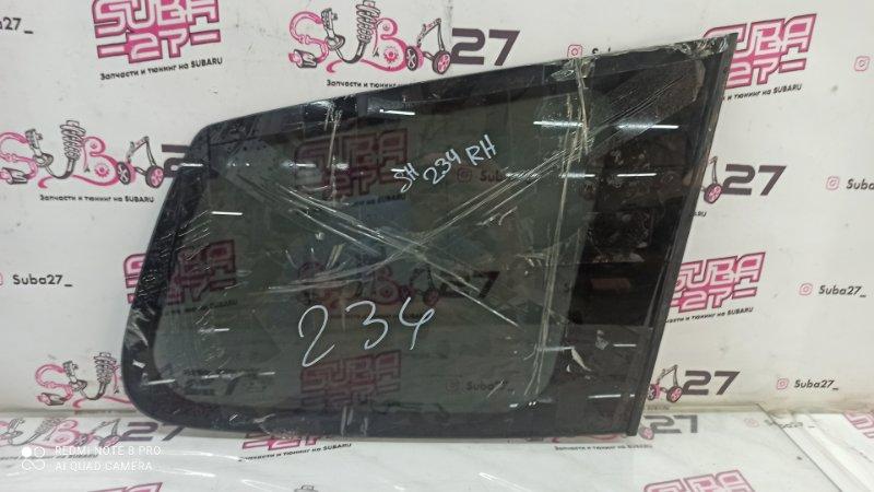 Стекло собачника Subaru Forester SHJ FB20 2011 правое (б/у)