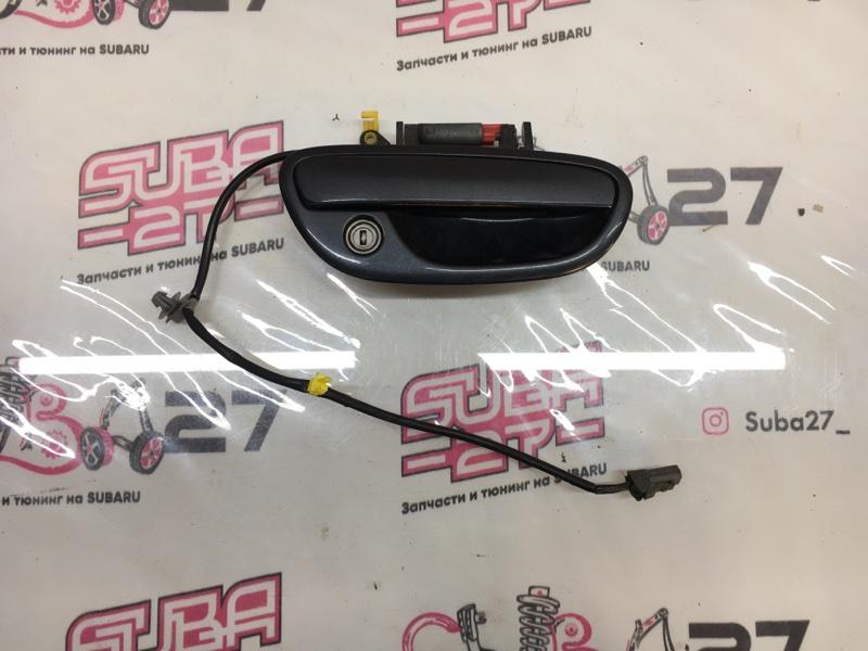 Ручка двери внешняя Subaru Legacy BLE EZ30 2006 передняя правая (б/у)