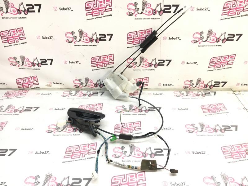 Ручка двери внешняя Subaru Legacy BLE EZ30 2006 задняя правая (б/у)