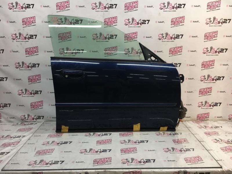 Дверь Subaru Legacy BP5 EJ20X 2003 передняя правая (б/у)