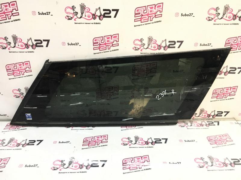 Стекло собачника Subaru Legacy BP5 EJ20X 2003 заднее правое (б/у)