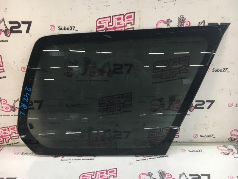 Стекло собачника Subaru Forester SHJ FB20 2011 левое (б/у)