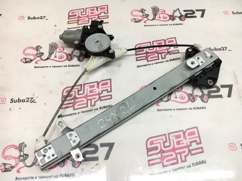 Мотор стеклоподъемника Subaru Forester SHJ FB20 2011 задний левый (б/у)