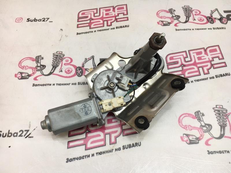 Мотор дворников Subaru Legacy BL5 EJ20X 2007 задний (б/у)