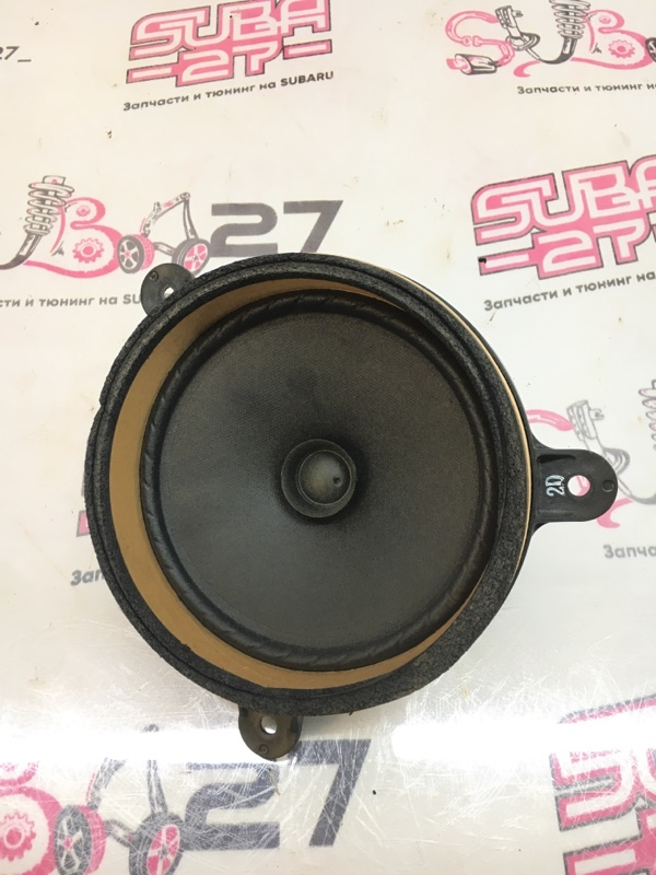 Мультимедиа акустика Subaru Legacy BP5 EJ20X 2007 задняя левая (б/у)