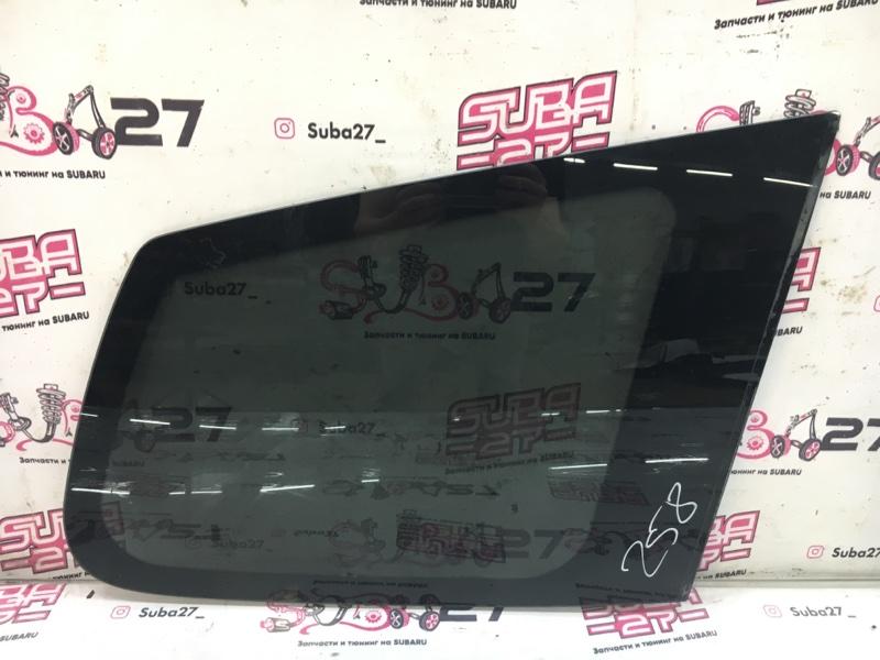 Стекло собачника Subaru Forester SH5 EJ204 2008 правое (б/у)