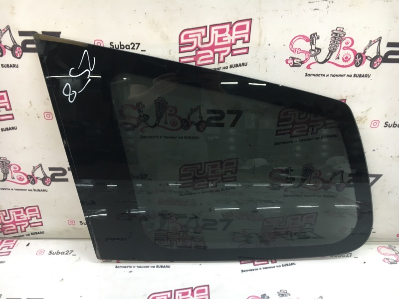 Стекло собачника Subaru Forester SH5 EJ204 2008 левое (б/у)