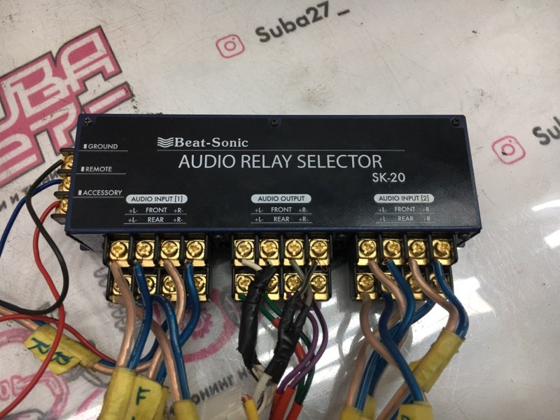 Мультимедиа магнитола Subaru Legacy BL5 EJ20X 2007 (б/у)