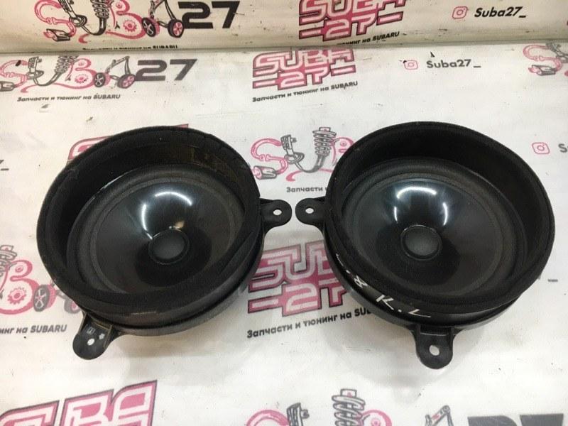 Мультимедиа акустика Subaru Forester SH5 EJ204 2008 задняя (б/у)