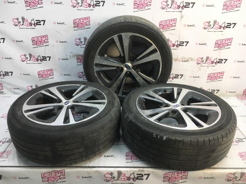 Комплект из 3-х колёс R17 / 215 / 50 Dunlop SP Sport Maxx 050 5x114.3 лит. +55ET  (б/у)