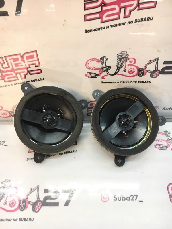 Мультимедиа акустика Subaru Legacy BL5 EJ20X 2004 задняя (б/у)
