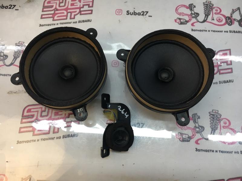 Мультимедиа акустика Subaru Outback BP9 EJ253 2007 передняя (б/у)