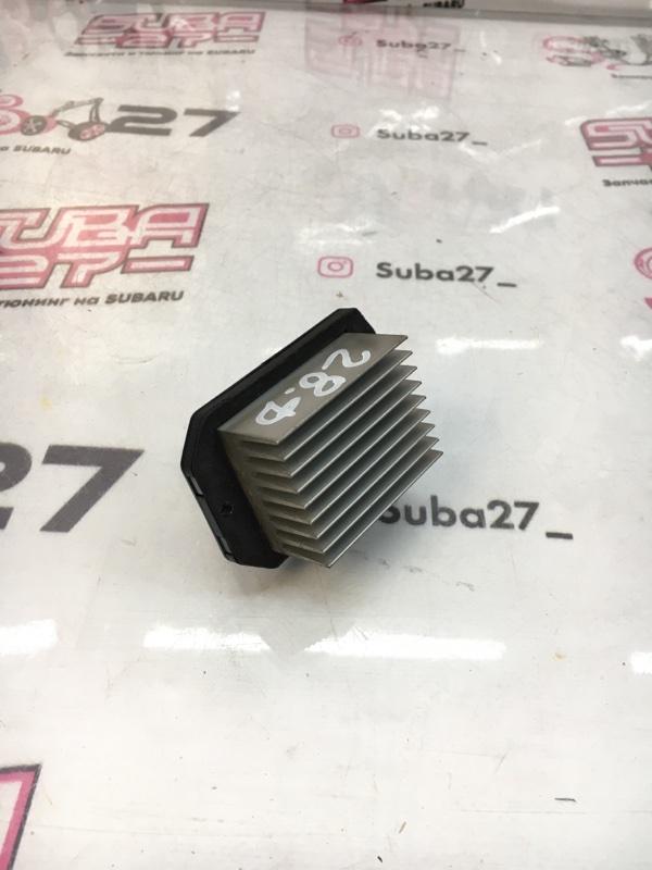 Реостат печки Subaru Outback BP9 EJ253 2003 (б/у)