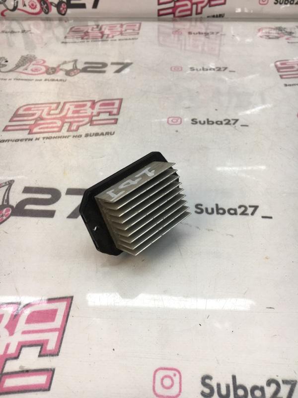 Реостат печки Subaru Legacy BP5 EJ20X 2004 (б/у)
